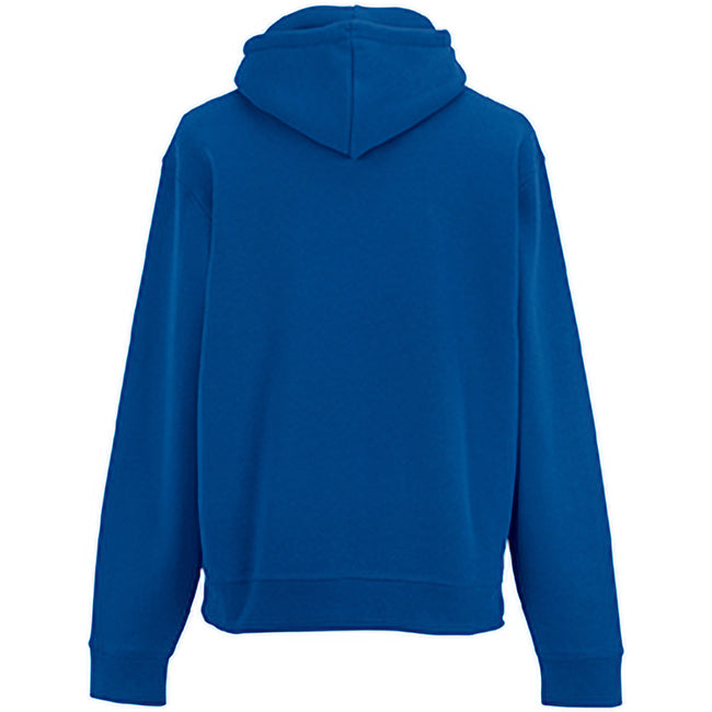 Bright Royal - Side - Russell Mens Authentic Hooded Sweatshirt - Hoodie