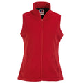 Classic Red - Front - Russell Ladies-Womens Smart Softshell Gilet Jacket
