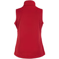 Classic Red - Back - Russell Ladies-Womens Smart Softshell Gilet Jacket