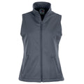 Convoy Grey - Front - Russell Ladies-Womens Smart Softshell Gilet Jacket