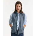 Convoy Grey - Side - Russell Ladies-Womens Smart Softshell Gilet Jacket