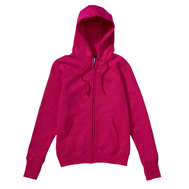 Light Oxford - Front - SG Mens Full Zip Urban Hooded Sweatshirt - Hoodie