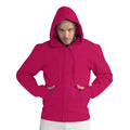 Navy Blue - Front - SG Mens Full Zip Urban Hooded Sweatshirt - Hoodie