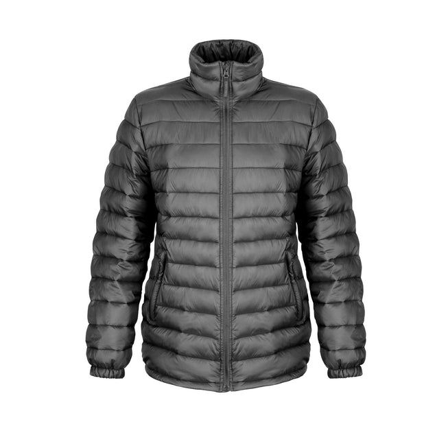 Black - Front - Result Ladies-Womens Ice Bird Padded Jacket (Water Repellent & Windproof)