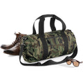 Jungle Camo - Lifestyle - Bagbase Camouflage Barrel - Duffle Bag (20 Litres)