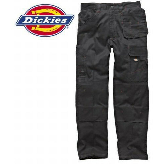 Navy - Front - Dickies Redhawk Mens Pro Work Wear Trouser (34inch Long Leg Length)
