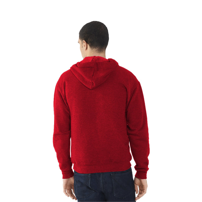 Fuchsia - Back - Fruit Of The Loom Mens Lightweight Full Zip Jacket - Hoodie