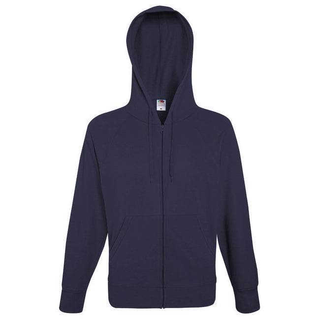 Light Graphite - Side - Fruit Of The Loom Mens Lightweight Full Zip Jacket - Hoodie