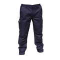 Navy Blue - Front - Result Mens Stretch Work Trousers - Pants (34inch Long Length)