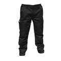 Black - Front - Result Mens Stretch Work Trousers - Pants (34inch Long Length)