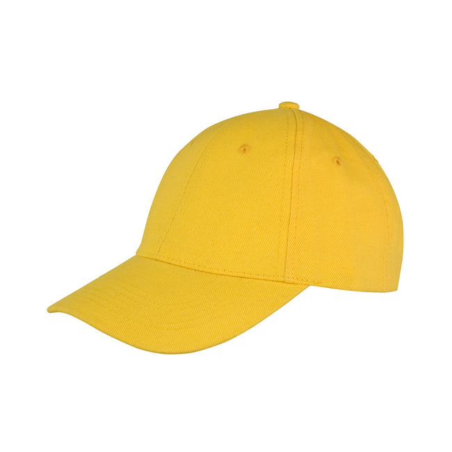 Yellow - Front - Result Unisex Core Memphis 6 Panel Baseball Cap