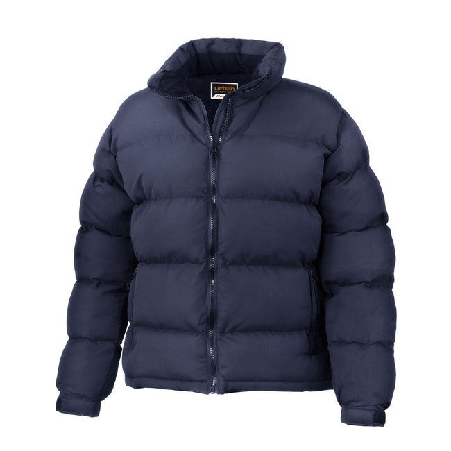 Navy Blue - Front - Result Womens-Ladies Urban Outdoor Holkham Down Feel Performance Jacket