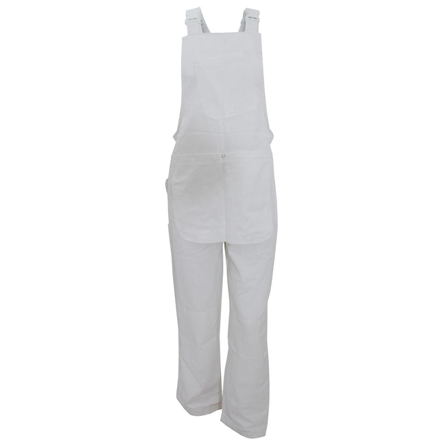 White - Front - Dickies Decorators Bib And Brace - Mens Workwear