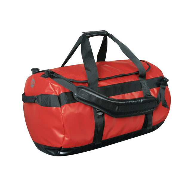 Red-Black - Front - Stormtech Waterproof Gear Holdall Bag (Medium)