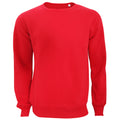 Crimson Red - Front - Active By Stedman Mens Sweatshirt