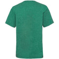 Retro Heather Green - Back - Fruit Of The Loom Childrens-Kids Unisex Valueweight Short Sleeve T-Shirt