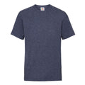 Vintage Heather Navy - Front - Fruit Of The Loom Childrens-Kids Unisex Valueweight Short Sleeve T-Shirt
