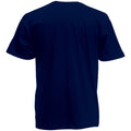 Deep Navy - Back - Fruit Of The Loom Mens Valueweight Short Sleeve T-Shirt