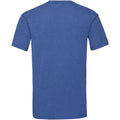 Retro Heather Royal - Back - Fruit Of The Loom Mens Valueweight Short Sleeve T-Shirt