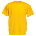 Sunflower - Front - Fruit Of The Loom Mens Valueweight Short Sleeve T-Shirt