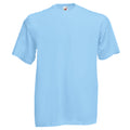 Sky Blue - Front - Fruit Of The Loom Mens Valueweight Short Sleeve T-Shirt