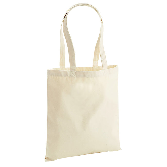 French Navy - Back - Westford Mill EarthAware Organic Bag For Life (10 Litres)
