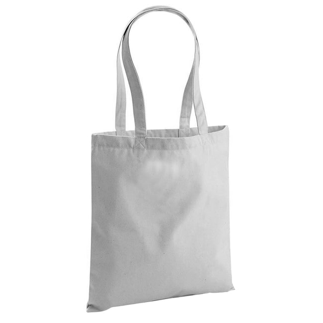 Natural - Back - Westford Mill EarthAware Organic Bag For Life (10 Litres)