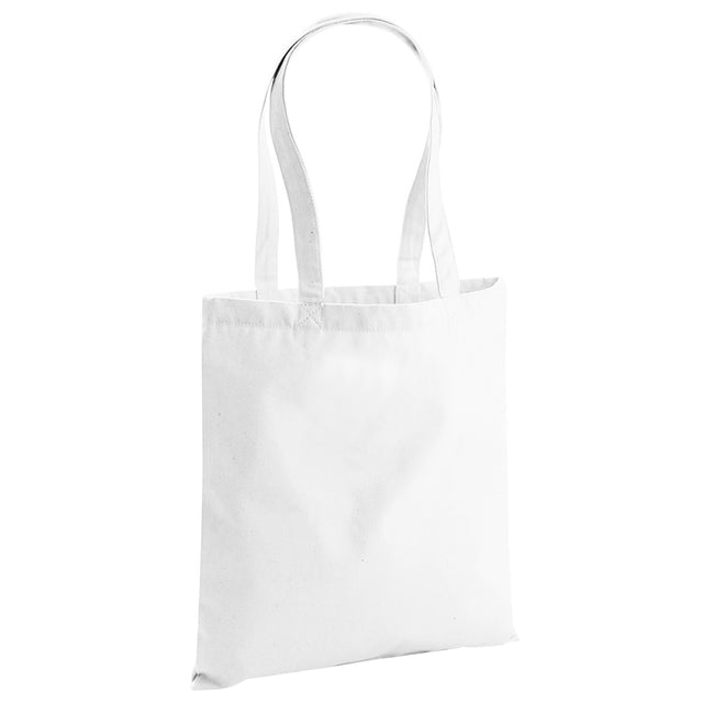 Classic Red - Front - Westford Mill EarthAware Organic Bag For Life (10 Litres)