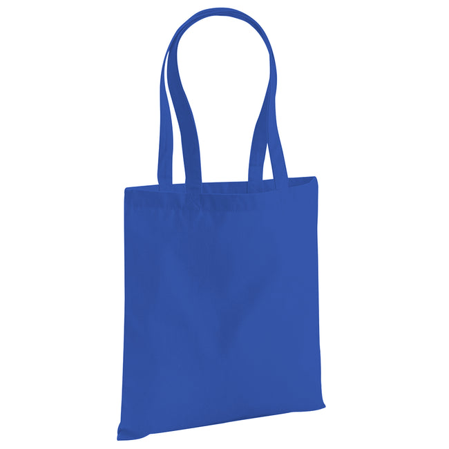 Bright Royal - Front - Westford Mill EarthAware Organic Bag For Life (10 Litres)