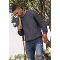 Dark Heather - Lifestyle - Fruit Of The Loom Mens Set-In Belcoro® Yarn Sweatshirt