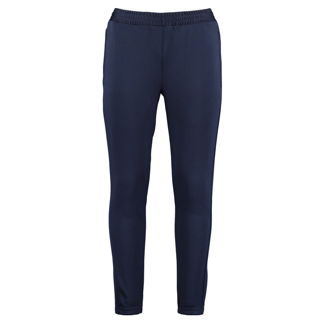 Navy Blue - Front - Gamegear Adults Unisex Slim Fit Performance Track Pants