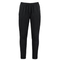 Black - Front - Gamegear Adults Unisex Slim Fit Performance Track Pants