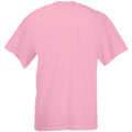 Pastel Pink - Back - Mens Value Short Sleeve Casual T-Shirt
