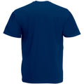 Oxford Navy - Back - Mens Value Short Sleeve Casual T-Shirt