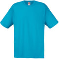 Cyan - Back - Mens Short Sleeve Casual T-Shirt