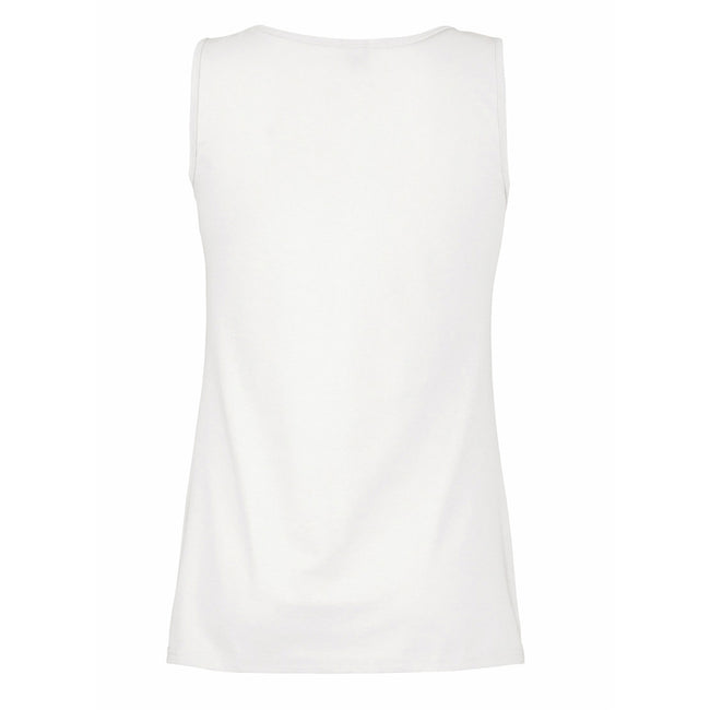 Snow - Back - Womens-Ladies Value Fitted Sleeveless Vest
