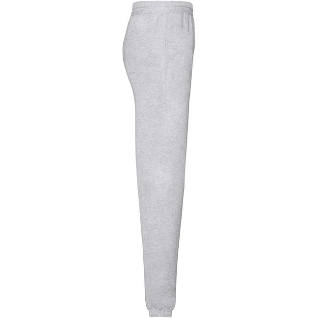 Heather Grey - Lifestyle - Fruit Of The Loom Mens Elasticated Cuff Jog Pants - Jogging Bottoms