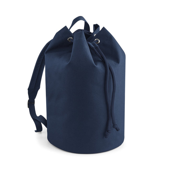 French Navy - Front - Bagbase Original Drawstring Backpack