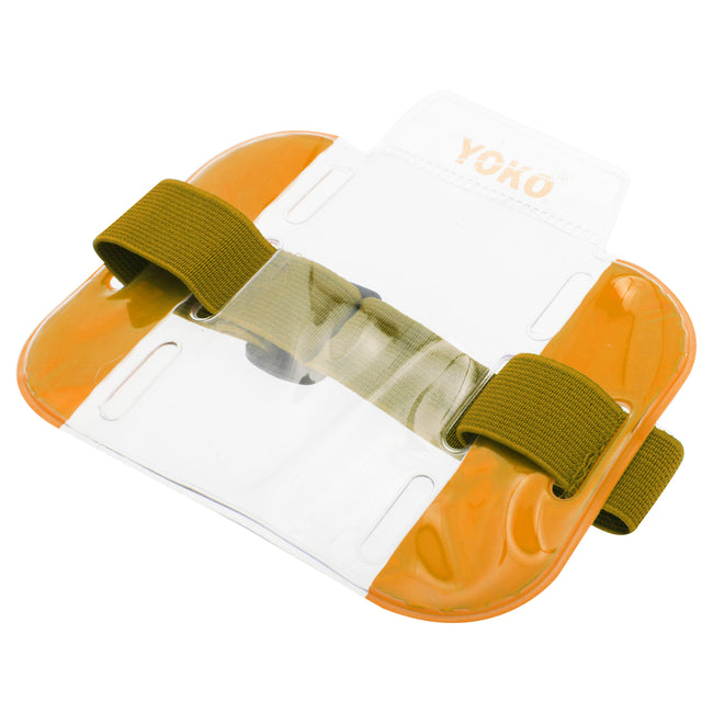 Floro Orange - Front - Yoko ID Armbands - Accessories (Pack of 4)