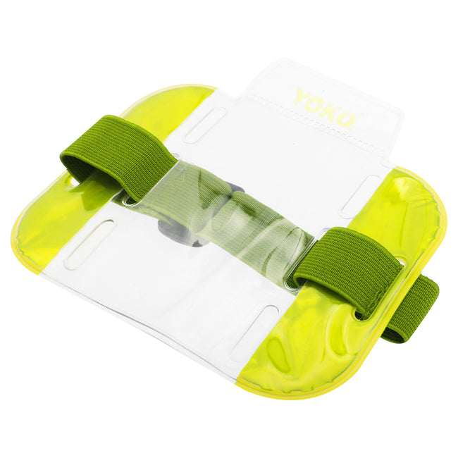 Floro Yellow - Front - Yoko ID Armbands - Accessories (Pack of 4)