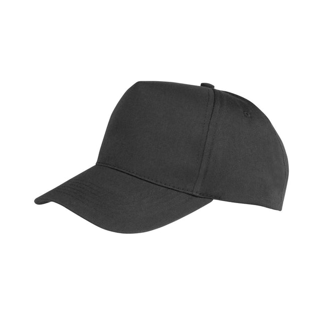 Lime - Front - Result Unisex Core Boston 5 Panel Printers Baseball Cap (Pack of 2)