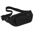 Black - Front - Quadra Belt Bag - 2 Litres (Pack of 2)