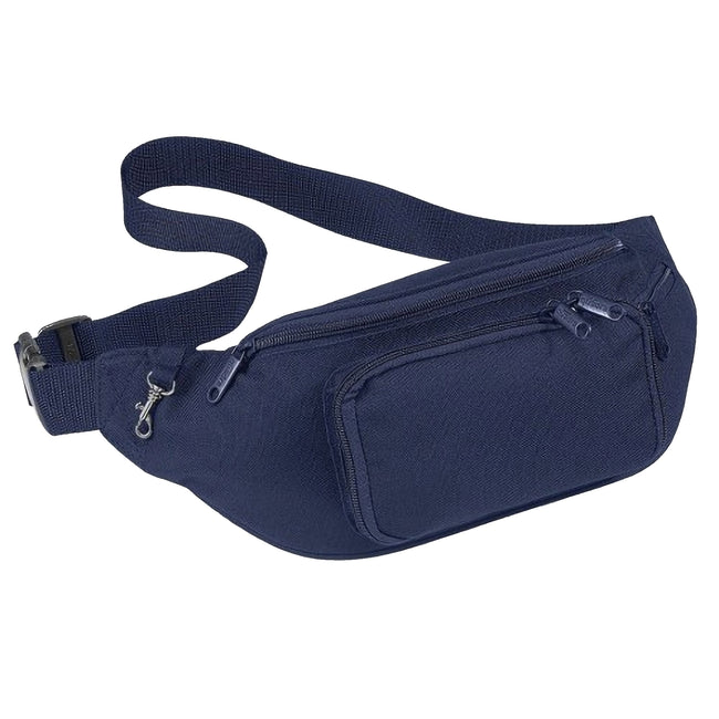 French Navy - Front - Quadra Belt Bag - 2 Litres (Pack of 2)