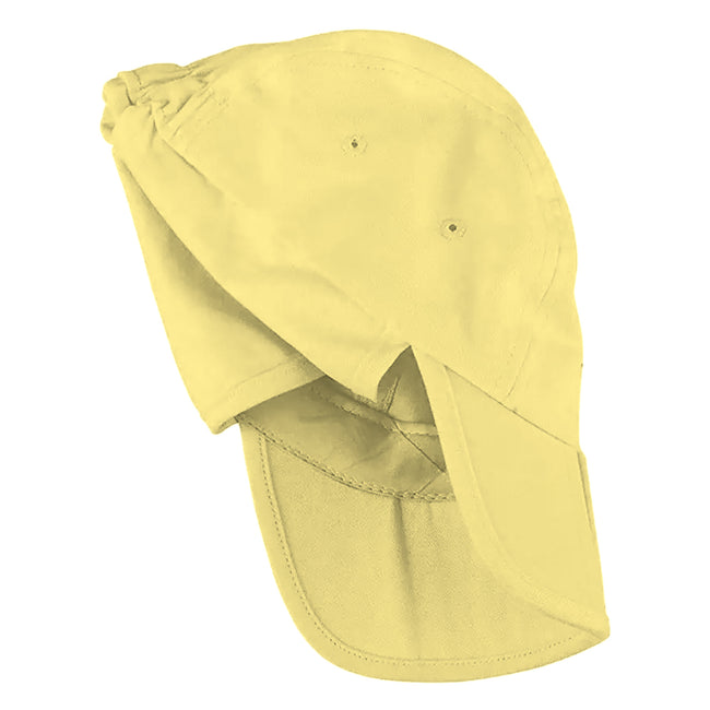 Black - Front - Result Headwear Kids-Childrens Unisex Folding Legionnaire Hat - Cap (Pack of 2)