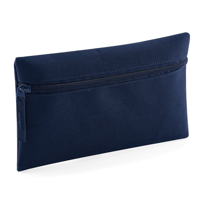 Sky Blue - Front - Quadra Classic Zip Up Pencil Case (Pack of 2)