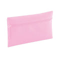 Classic Pink - Back - Quadra Classic Zip Up Pencil Case (Pack of 2)