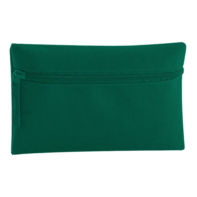 French Navy - Front - Quadra Classic Zip Up Pencil Case (Pack of 2)