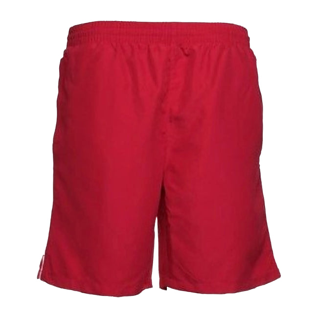 Red-White - Front - Gamegear® Track Sports Shorts - Mens Sportswear