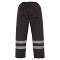Hi-Vis Yellow - Front - Yoko Mens Hi-Vis Waterproof Contractor Over Trousers (Pack of 2)