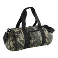 Jungle Camo - Front - Bagbase Camouflage Barrel - Duffle Bag (20 Litres) (Pack of 2)
